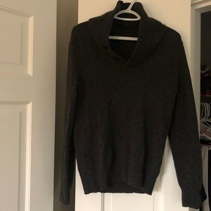 J. Crew Men's Lambswool Shawl-Collar Sweater